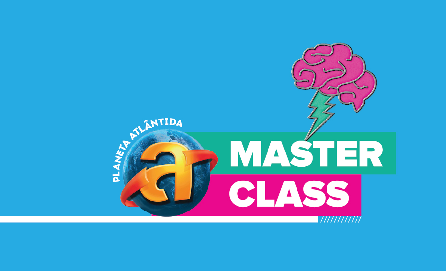 Logo do curso Master Class Planeta Atlântida