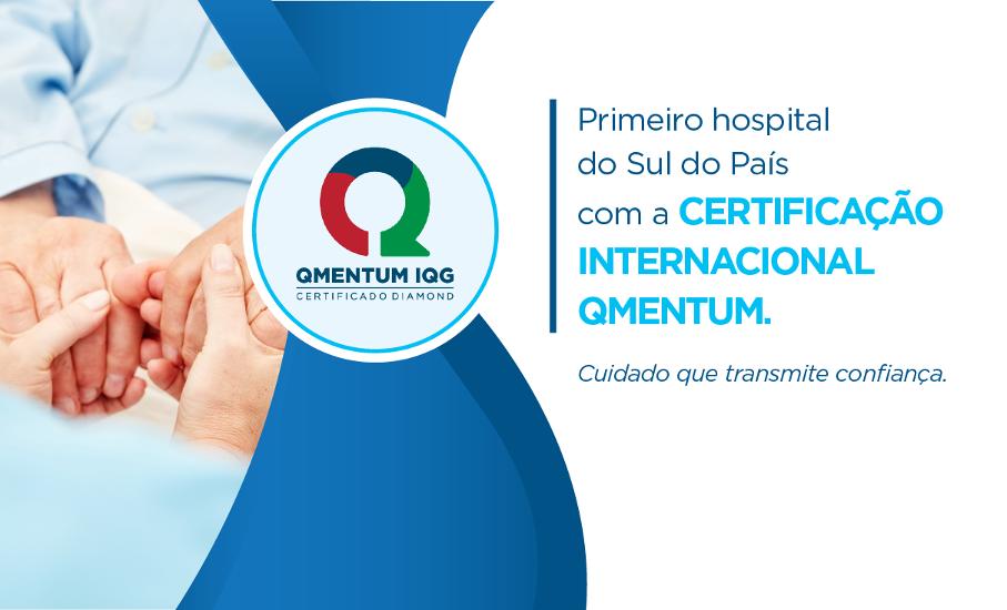 Imagem do da conquista inédita do reconhecimento internacional que o Hospital São Lucas obteve