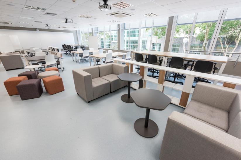 Sala de aula do Living 360°