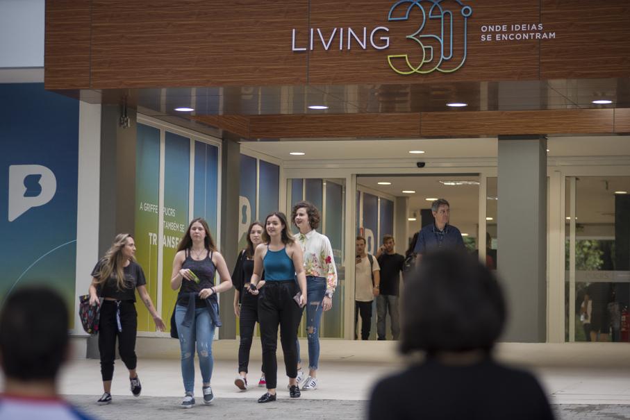 volta às aulas, living 360, pucrs 360, campus