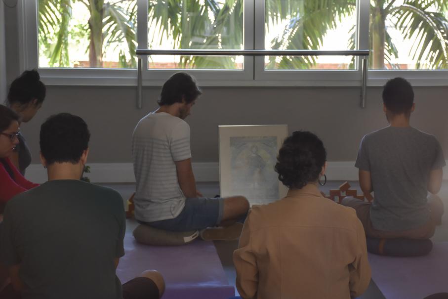living 360, prédio 15, sala de meditação, centro de pastoral e solidariedade