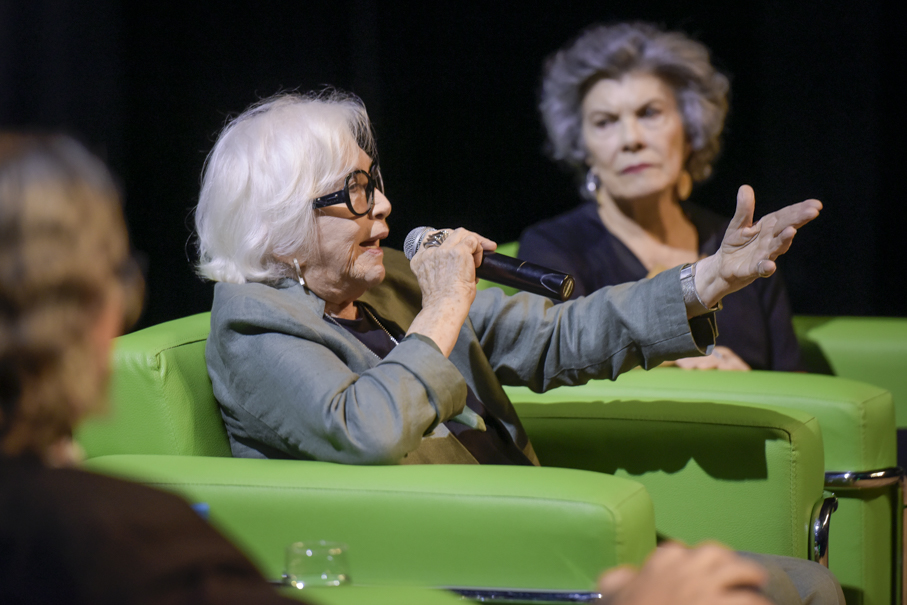 Conversa com Nathalia Timberg, Instituto de Cultura, Nathalia Timberg