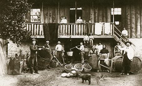 família italiana, Ana Rech, 1904