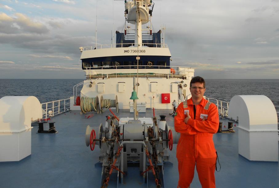 Frederico Rodrigues, GeoScientes, Instituto do Petróleo, Rio Amazonas