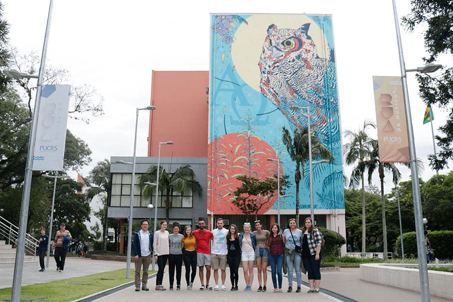 Pro Mata, IMA, intercambio, internacional, Rua da Cultura