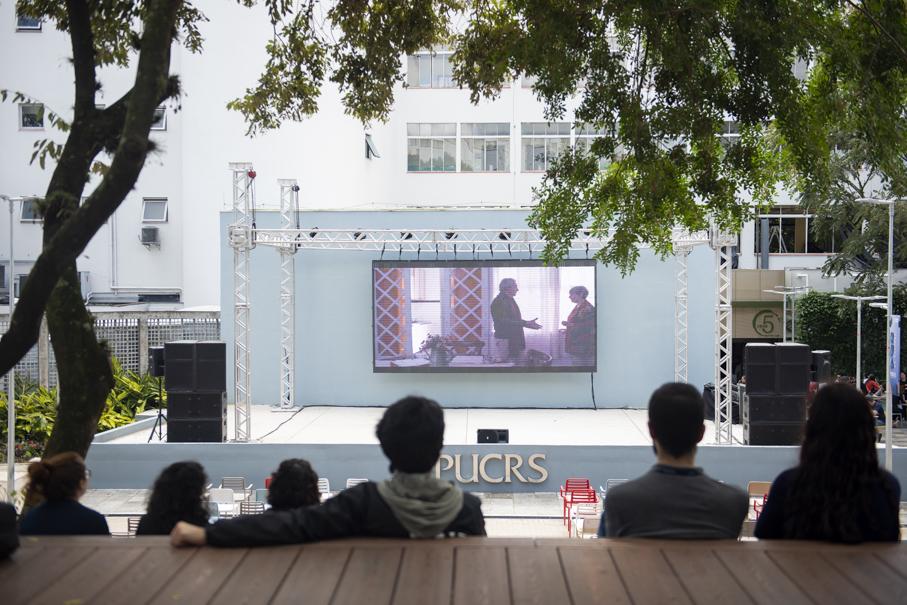 rua chamada cinema, pucrs cultura, teccine