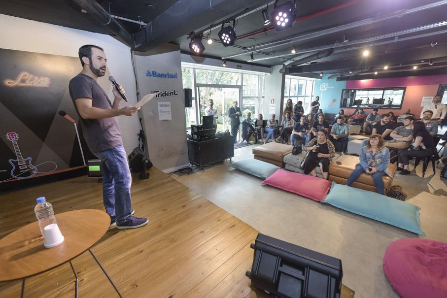 Abertura Pitch Day, Tecnopuc, Startups, ATL House