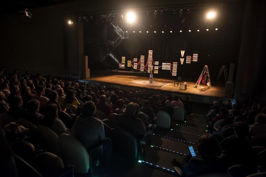 andrea beltrão, antígona, pucrs cultura, teatro, reitoria, reitor, evilázio teixeira
