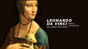 Mostra apresenta réplicas de obras de Leonardo da Vinci