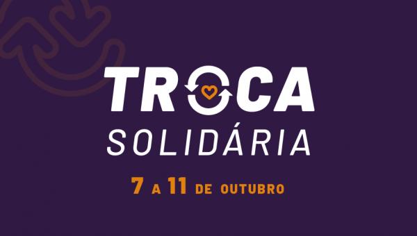 Troca Solidária incentiva a doação de alimentos e promove a leitura