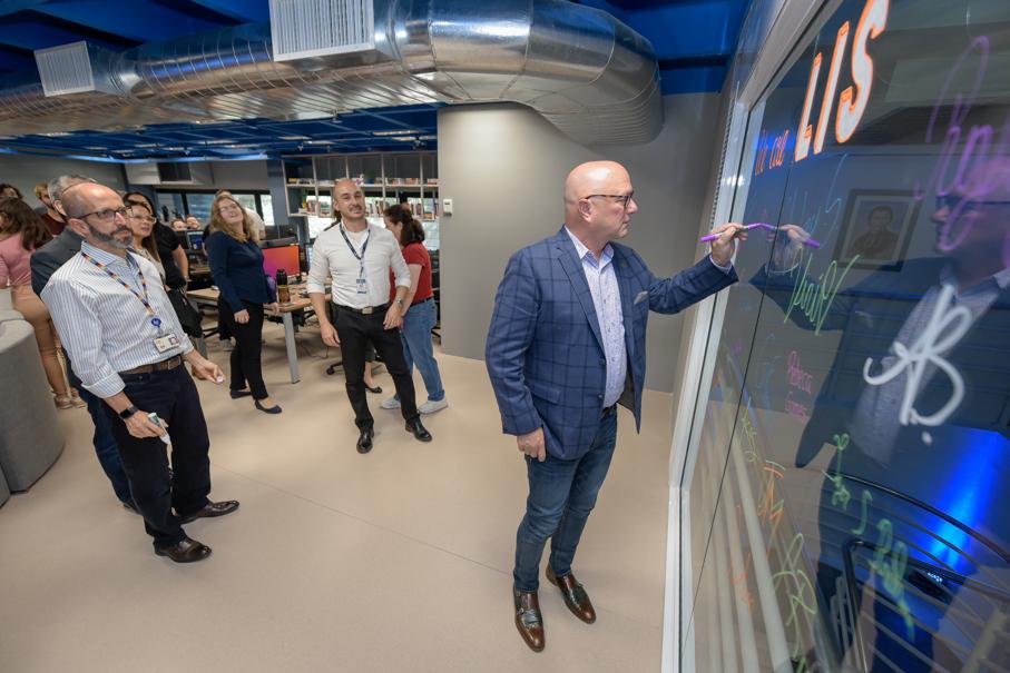 Inauguração LIS, HP, Laboratório de Inovação de Software
