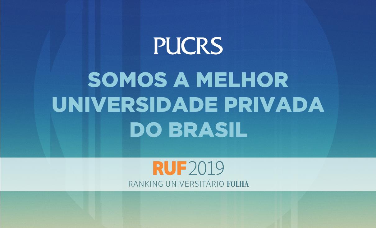 RUF 2019,Melhor Universidade Privada do Brasil RUF,