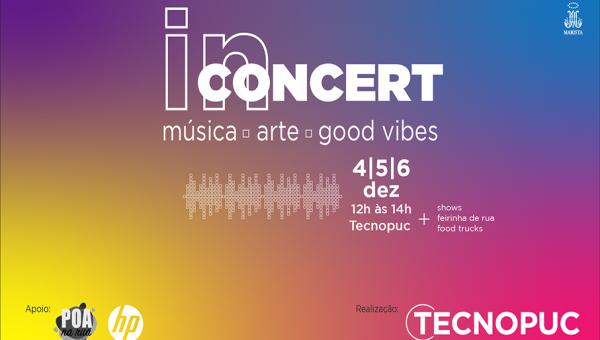 Tecnopuc In Concert começa nesta quarta-feira com shows musicais e feira de rua