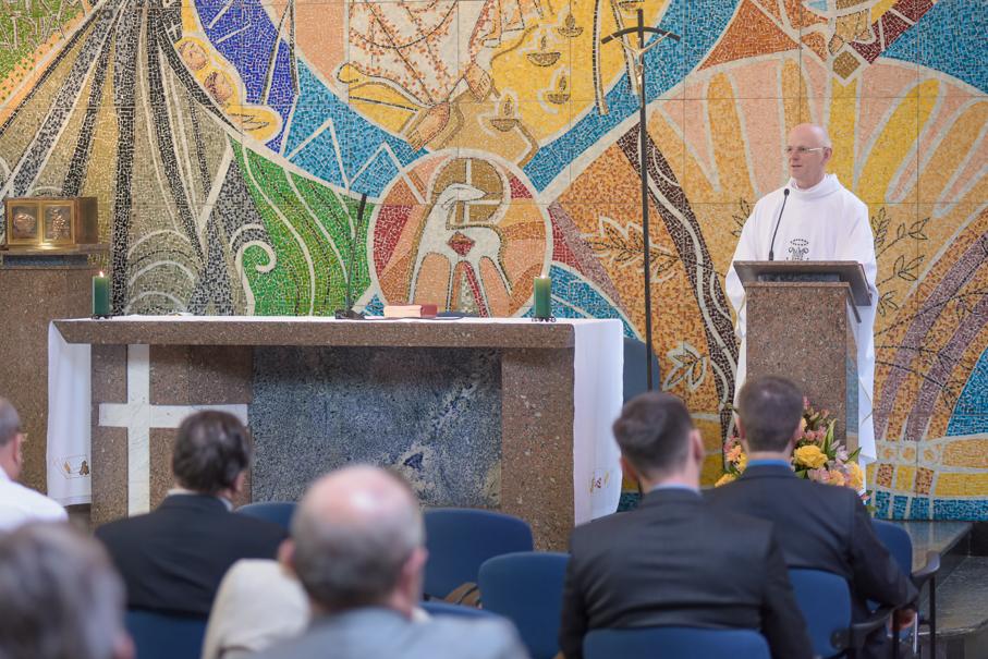 Missa de Aniversário PUCRS, Igreja Cristo Mestre