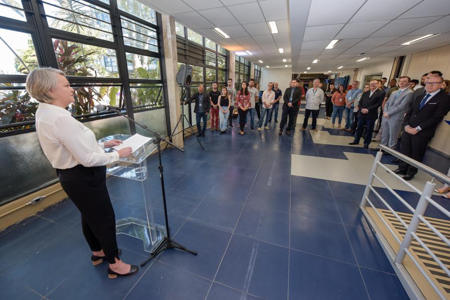 Inauguração dos Laboratório LIMPPM, LASFT e LOPE, Escola Politécnica