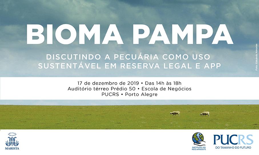 bioma pampa, evento, consema, mesa redonda, reserva legal, app