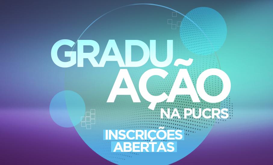 Inscrições abertas para os cursos de graduação na PUCRS