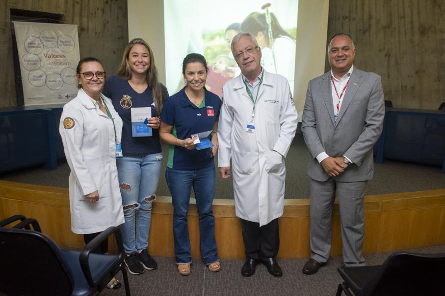 Fernanda Oliveira, Ana Barbachan, escola de medicina, sessão clínica, pediatria, hospital são lucas, HSL, atletas, iatismo, diplomados, diplomadas, alumni