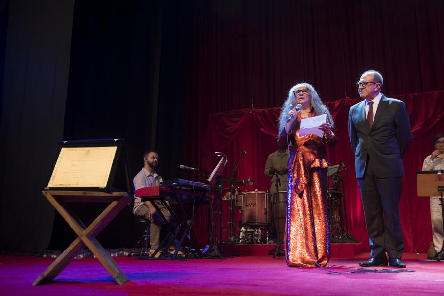 maria bethânia, claros breus, mérito cultural, pucrs cultura, salão de atos, show, espetáculo