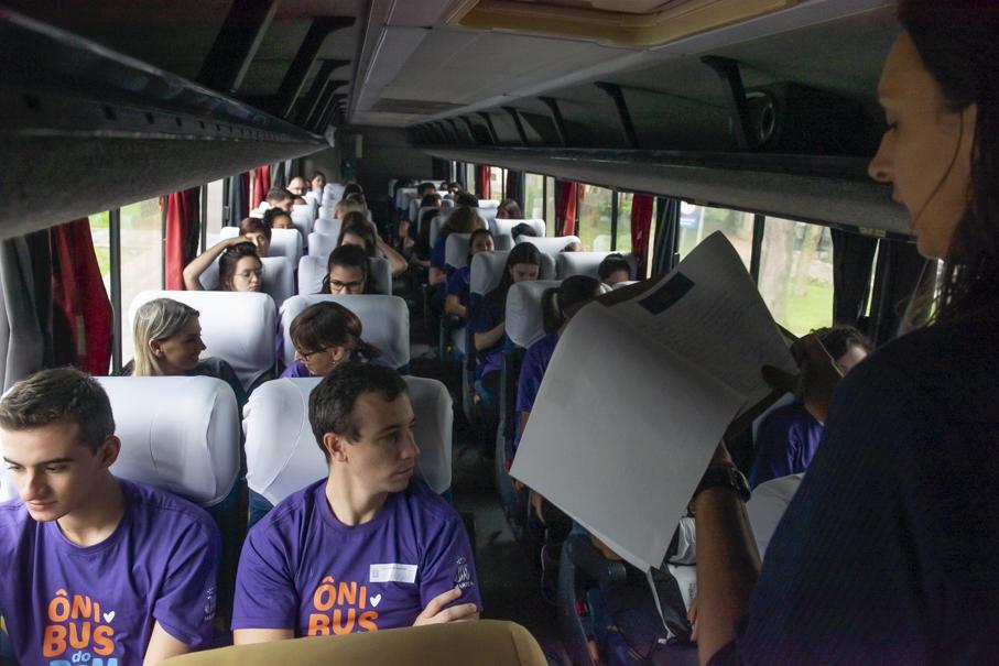 ônibus do bem, voluntariado, centro de pastoral e solidariedade, padre irineu brand