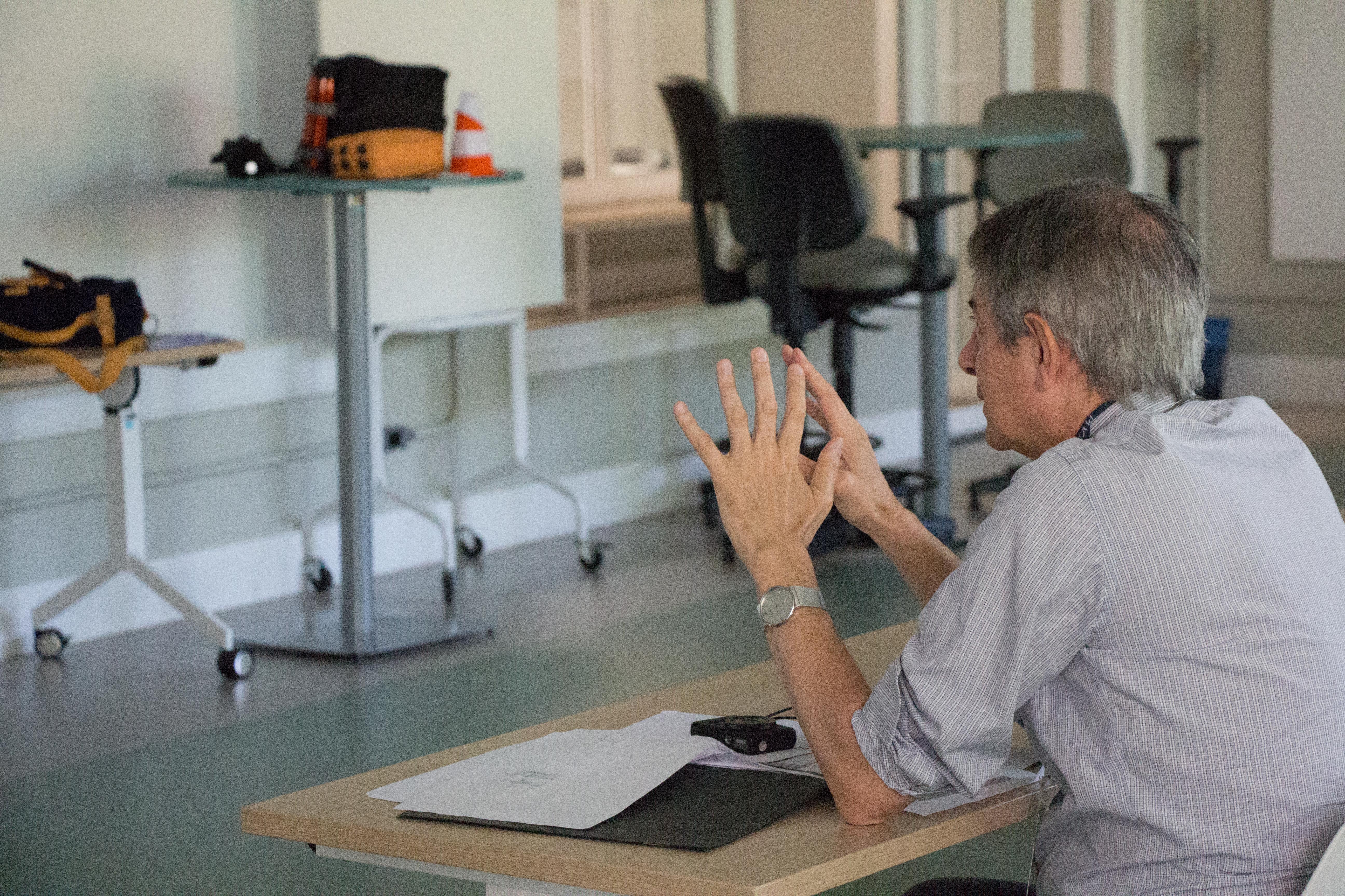 Apresentação dos protótipos criados na disciplina de Laboratório Interdisciplinar de Design II, dos cursos de Design