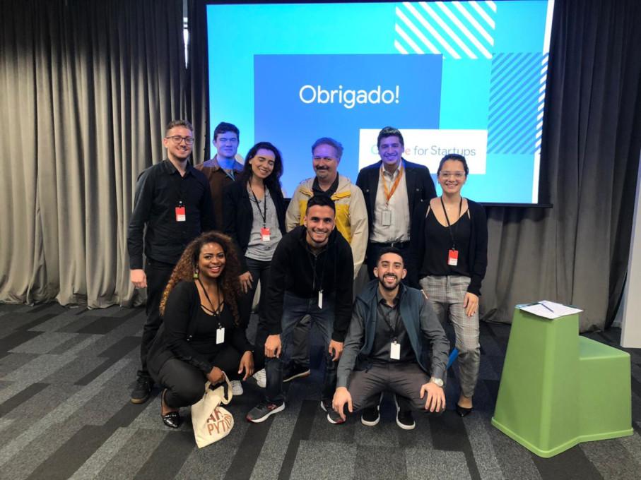 Vencedores do Torneio Empreendedor no Google / Foto: Vicente Zanella - Arquivo Pessoal