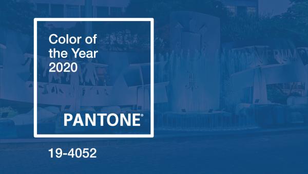 Azul da PUCRS faz parte da paleta da cor do Ano da Pantone
