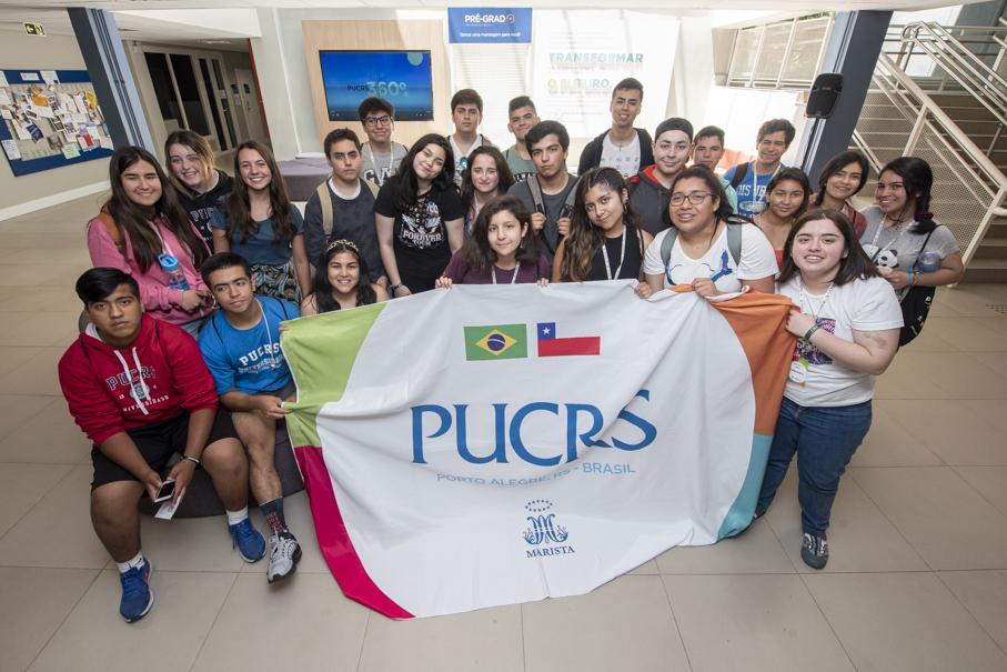 pré-grad internacional, proex, chile, chilenos, ensino médio, internacionalização