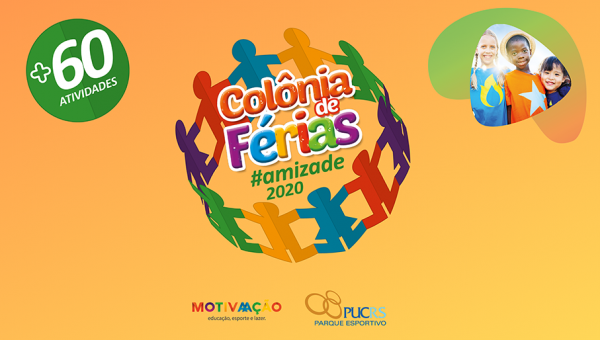 Parque Esportivo promove colônia de férias para crianças de 5 a 11 anos