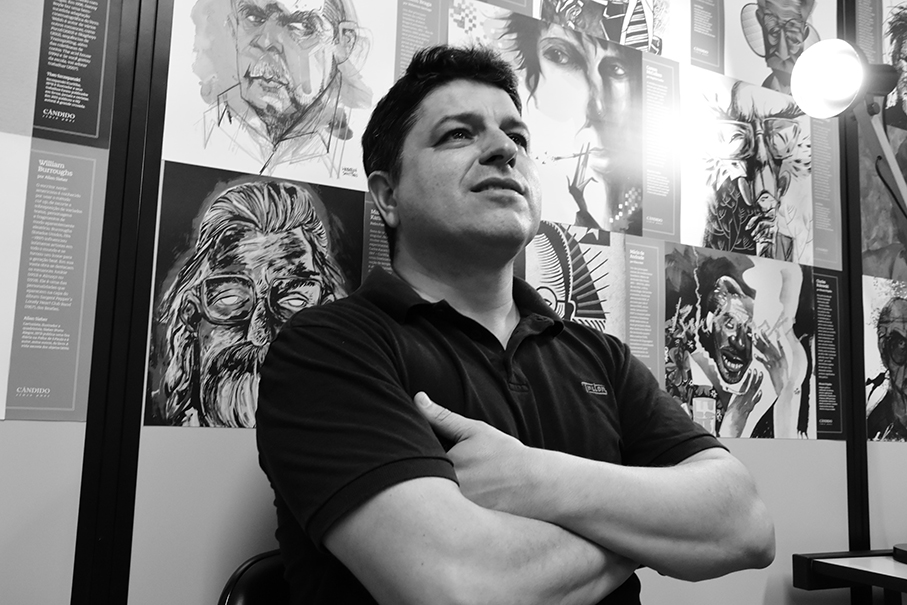 Professor Altair Martins / Foto: Davi Boaventura