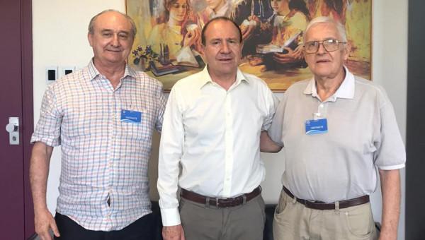 50 anos de formatura: reitor recebe alumni do curso de Engenharia Mecânica