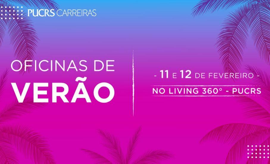 PUCRS Carreiras promove oficinas solidárias de verão - Capacitações ajudam a turbinar a carreira e incentivam a doação de alimentos