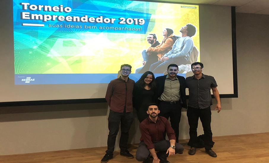 Grupo de alunos desenvolvedor do projeto / Foto: Augusto de Lara