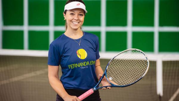 Fernanda Ens Esportes de Raquetes traz novas modalidades ao Parque