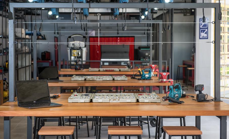 FabLab: laboratório de criatividade e prototipagem. Foto: Bruno Todeschini