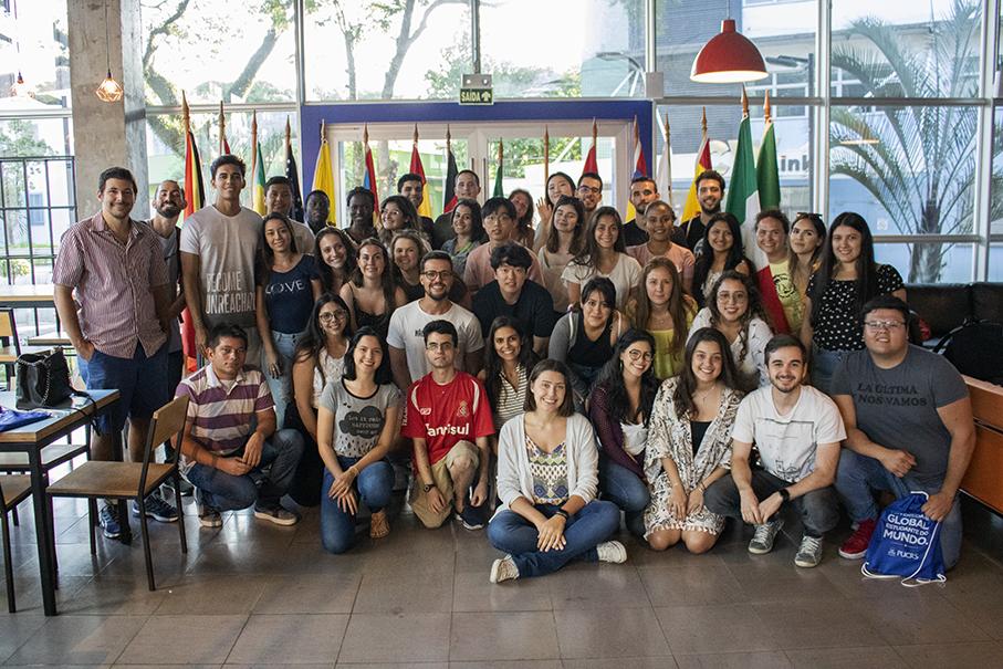 seminário de orientação, estrangeiros, alunos internacionais
