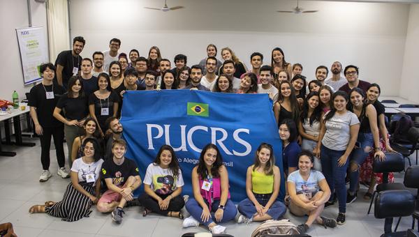 Alunos internacionais iniciam estudos na PUCRS neste semestre