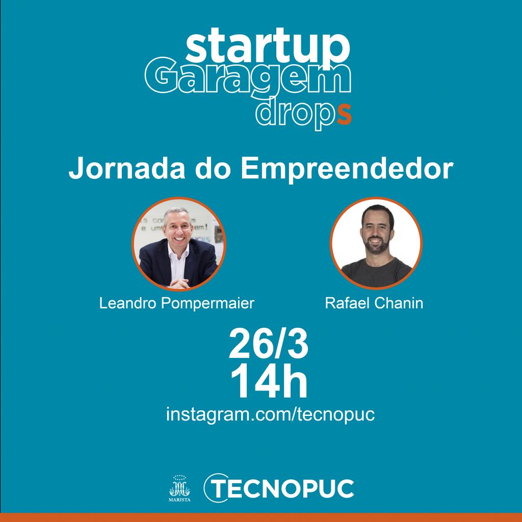 startup garagem drops