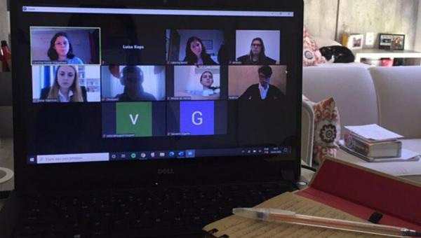Alunos da Escola de Direito participam de competição internacional por vídeo