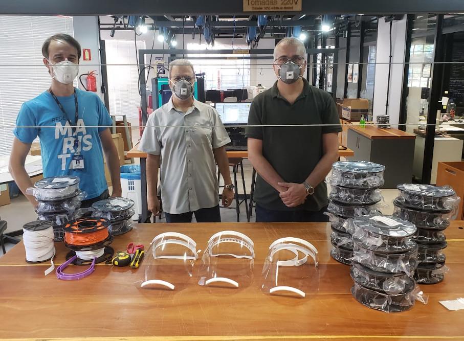 covid-19, protetor, máscara, tecnopuc