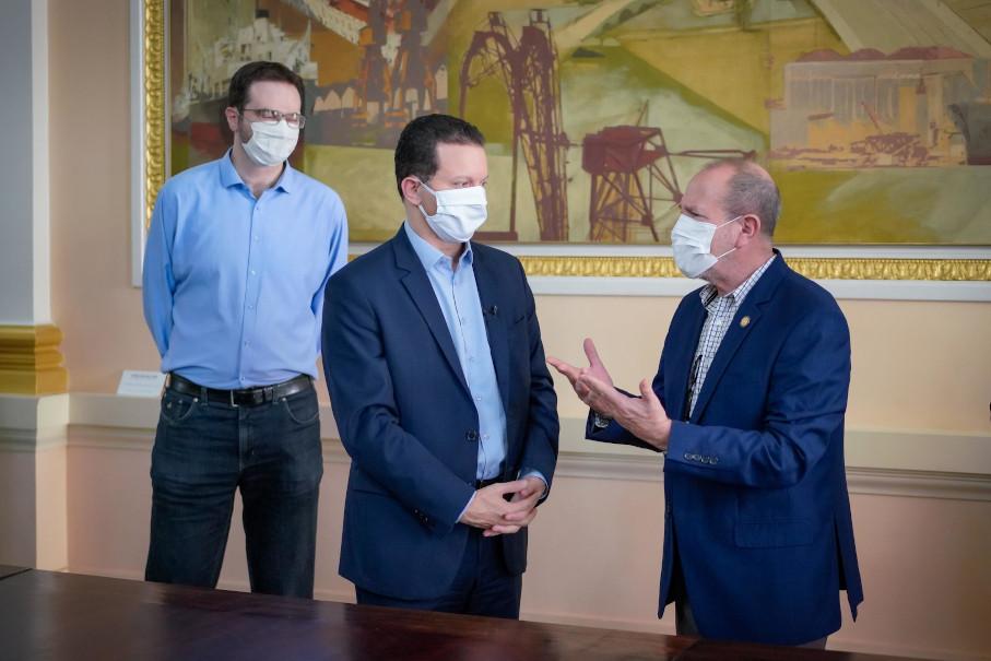 obstétrico, pediátrico, hospital são lucas, Hospital Materno Infantil Presidente Vargas, reposicionamento, assinatura
