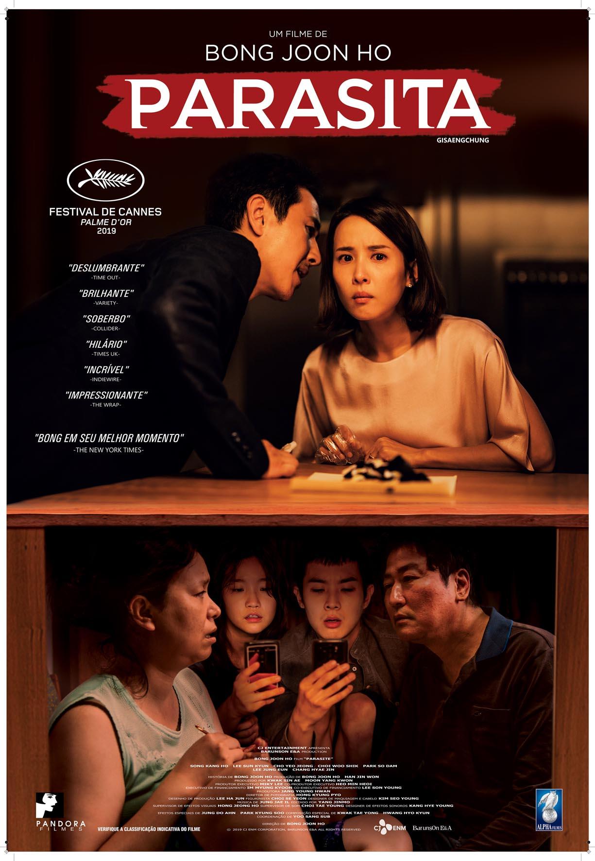 Parasitas (2019), de Bong Joon-ho