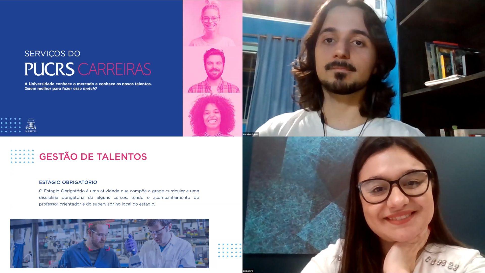 PUCRS Carreiras promove bate-papos online com alunos - Professores podem organizar conversas com os consultores para as suas turmas