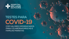 Testes para o novo coronavírus terão valores exclusivos para Rede Marista