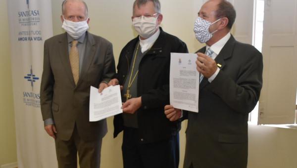 Saúde no RS ganha força em parceria histórica entre HSL-PUCRS e Santa Casa