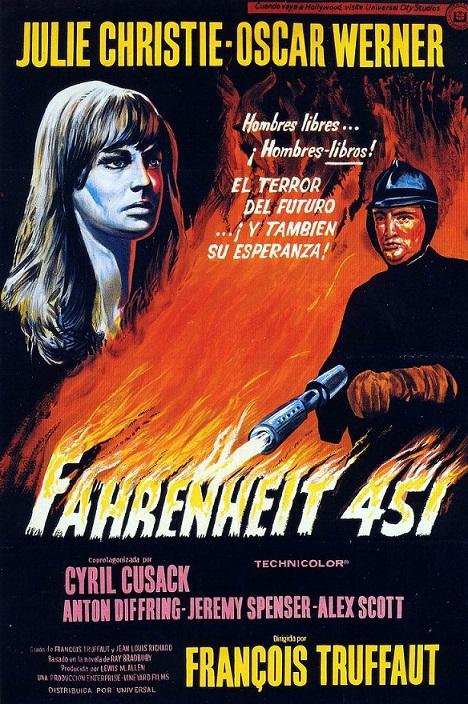 Fahrenheit 451 (1966), de François Truffaut