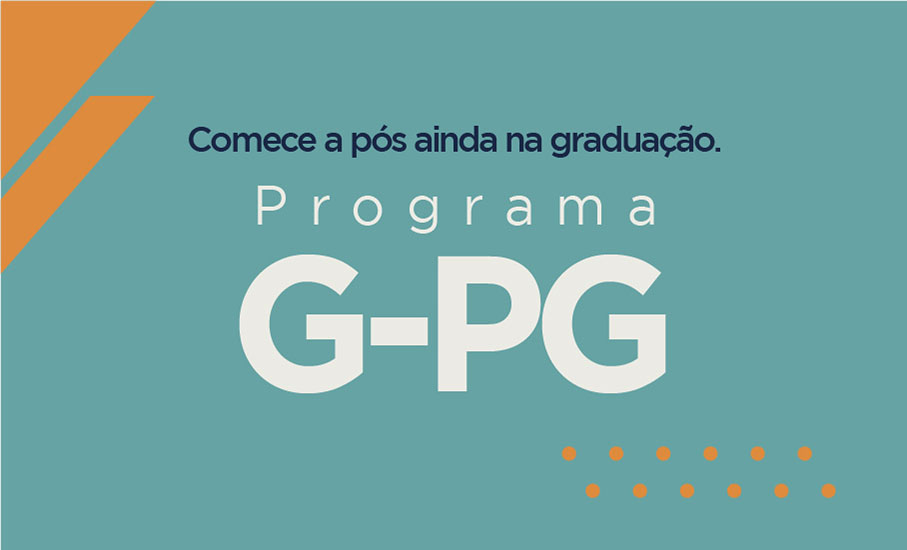 gpg,graduação,programa de integração da graduação com a pós,mestrado,pós-graduação,doutorado