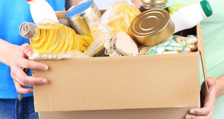 doação, alimentos, escola politécnica