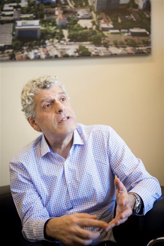 Nelson Kalil destinou recursos ao Instituto do Cérebro da PUCRS. Crédito: Camila Cunha