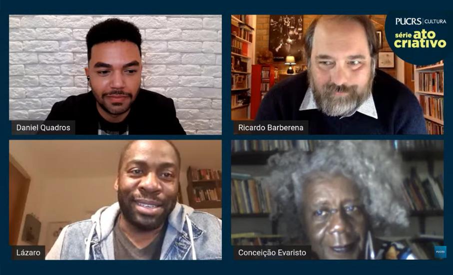 As novas narrativas contadas através da arte, por Conceição Evaristo e Lázaro Ramos - A escritora e o ator, a experiência e a juventude, uma mesma inspiração: abrir portas para que histórias reais sejam contadas